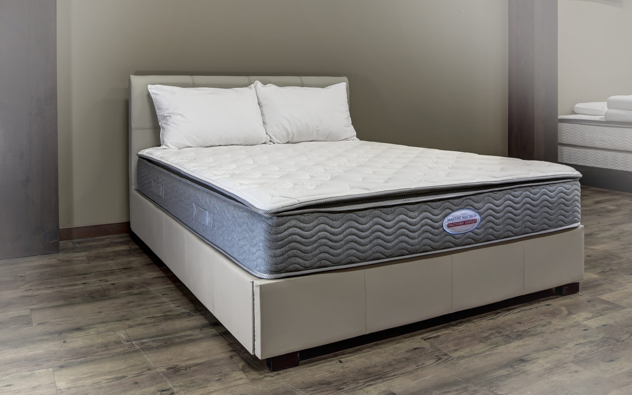 sleep mattress five pillow foam memory sunset topper zone country products